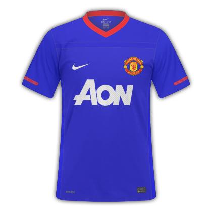 Manchester United 11/12 Away Kit