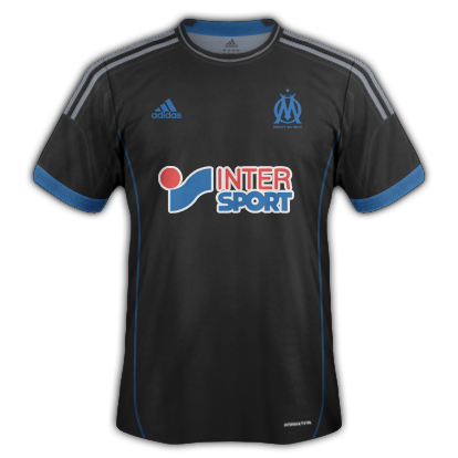 Marseille kits for 2014/15