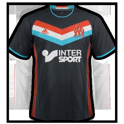 Marseille Third kit