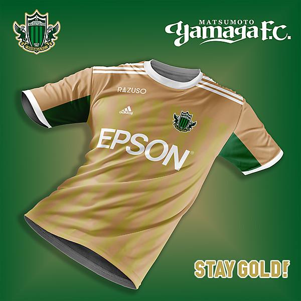 Matsumoto Yamaga FC 3rd kit concept