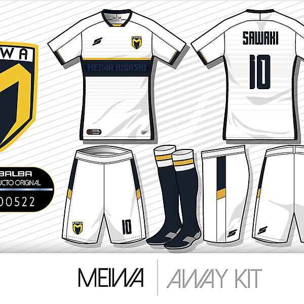 Meiwa Higashi Away Kit