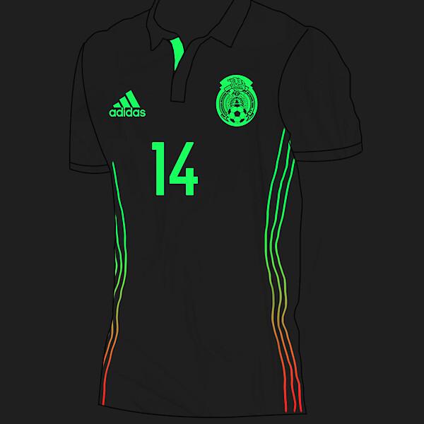 México Away 16-17