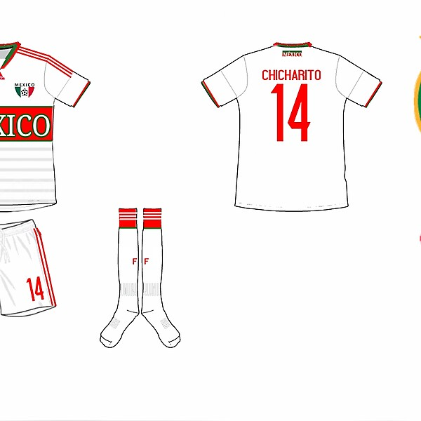 Mexico Away Kit