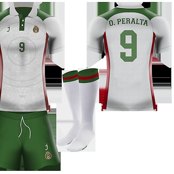 Mexico away kit by J-sports
