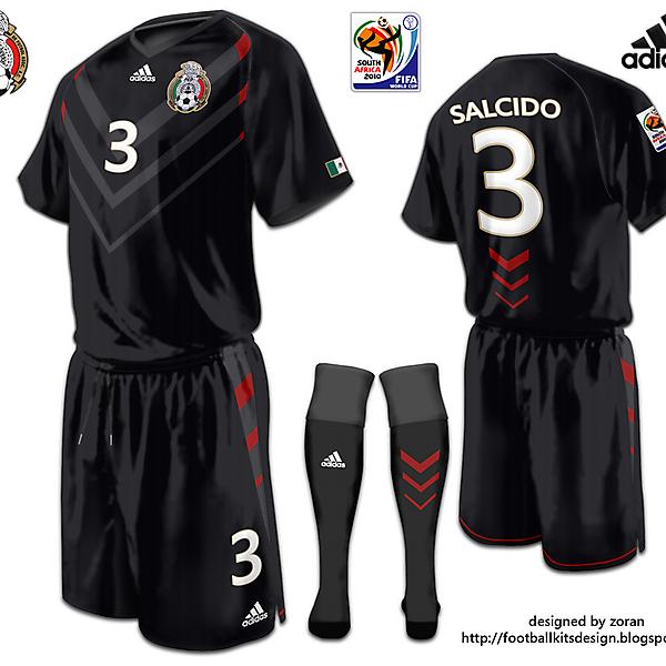 Mexico World Cup fantasy black