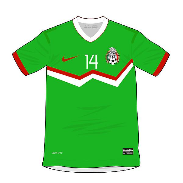 Mexico Home Fantasy Nike