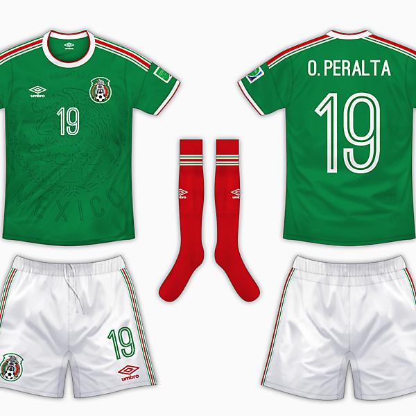 Mexico Home Kit - Umbro