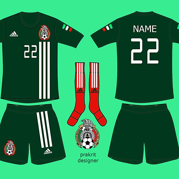 Mexico Kits Home 2017