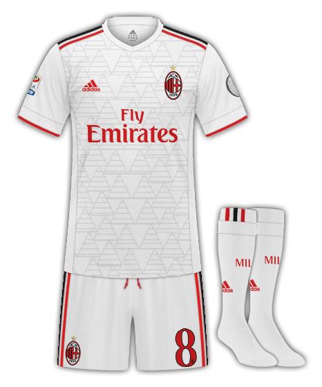 Milan away kit