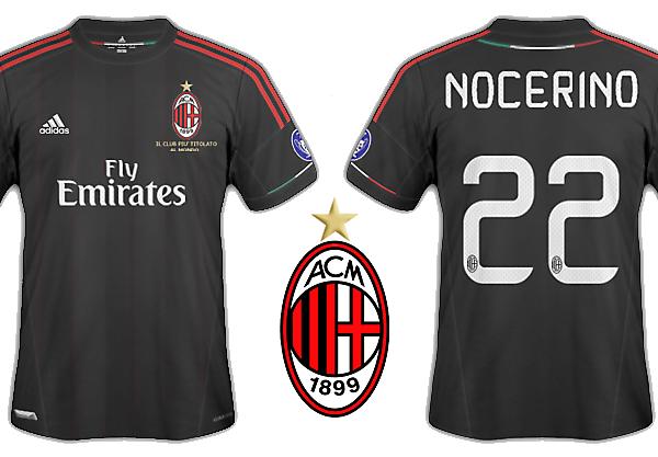Milan 2012-13 kits