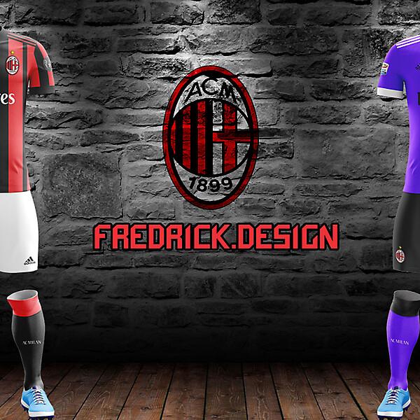 Milan x Adidas x Home/Away