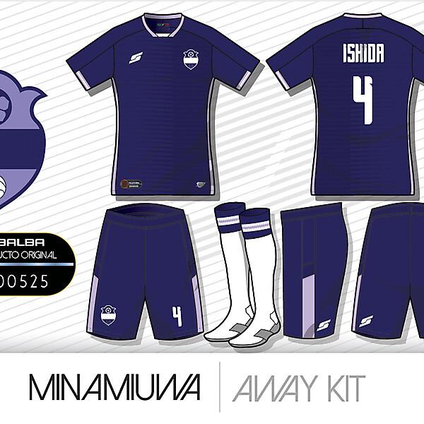 Minamiuwa Away kit