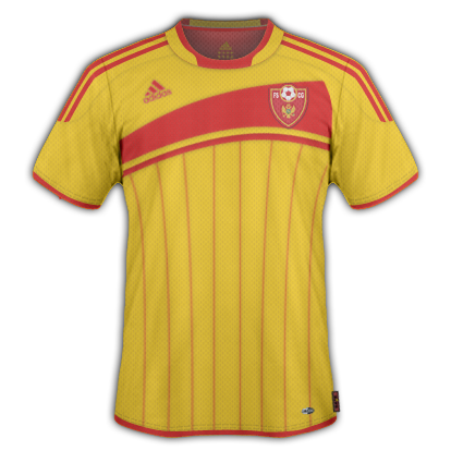 Montenegro Third - Away Shirt 2010
