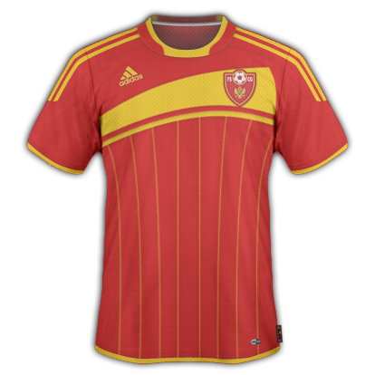 Montenegro Home Shirt 2010