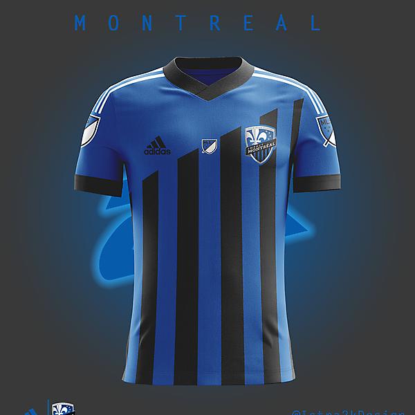 Montreal Impact - Home kit