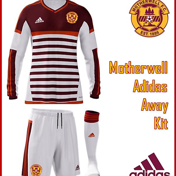 Motherwell F.C. - Adidas Away Kit