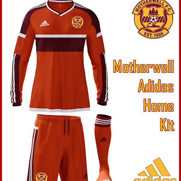 Motherwell F.C. - Adidas Home Kit