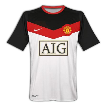 Man Utd Away kit 09/10 Fantasy