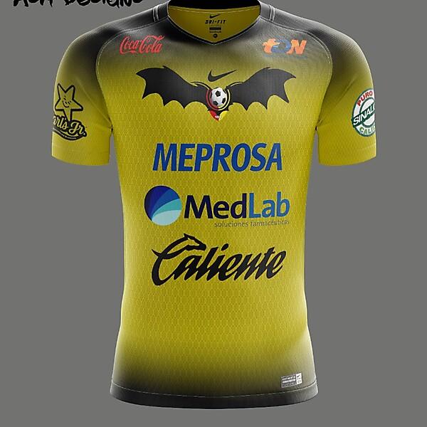 Murciélagos F.C. Nike 2018 Away Kit