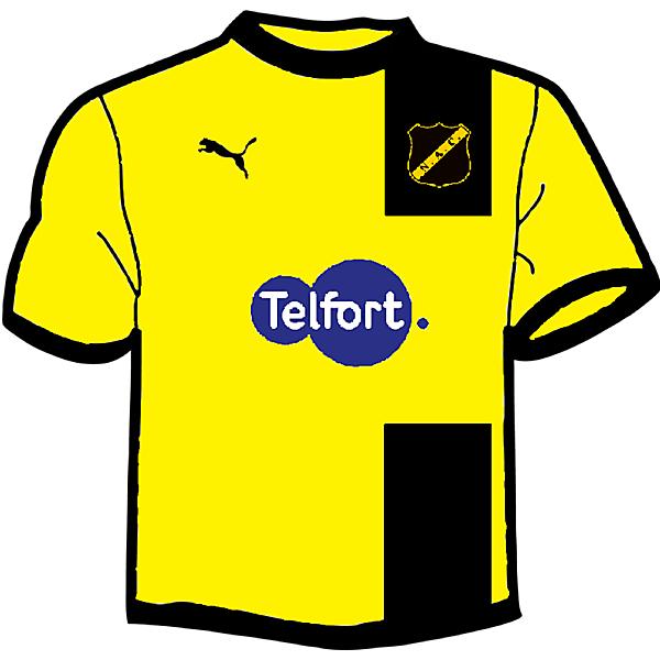 NAC Breda Home kit fantasy 2014-2015