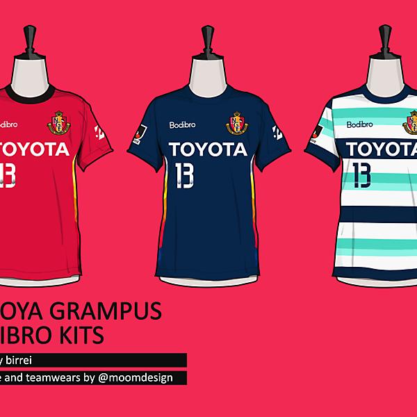 Nagoya Grampus BodiBro Kits