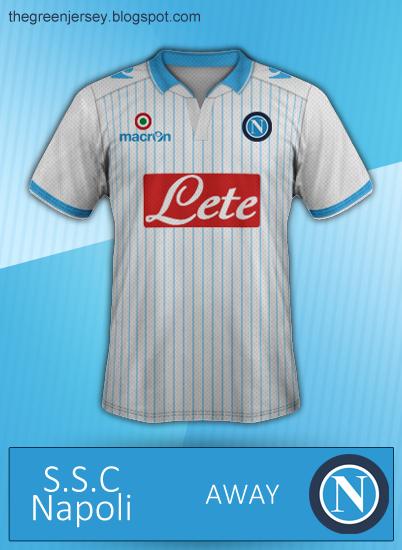 Napoli - Away kit