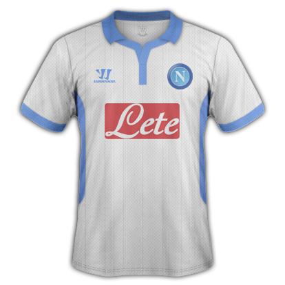 Napoli fantasy kits with Warrior