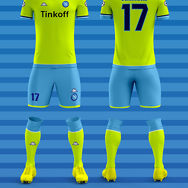 Napoli Third Kit