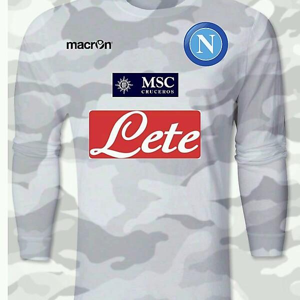 Napoli White Camouflage Shirt