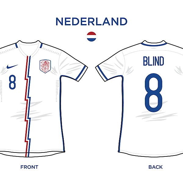 Nederland Away 2016/17