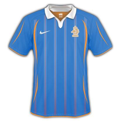 Netherlands 2010 World Cup Away Shirt