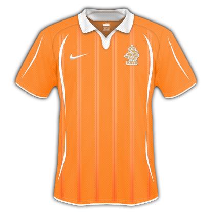 Netherlands 2010 World Cup Home Shirt