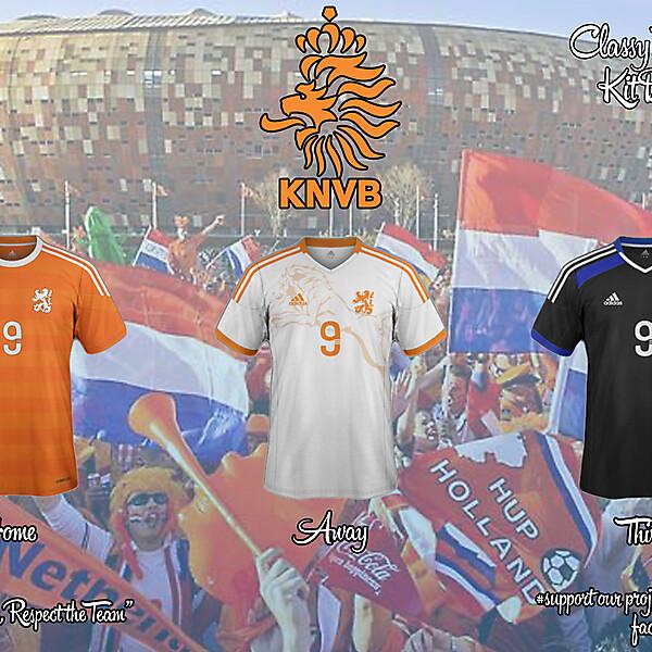 Netherlands Adidas Concept 15/16