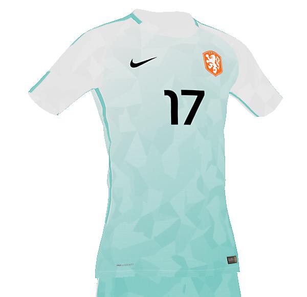 Netherlands EURO 2020 away concept