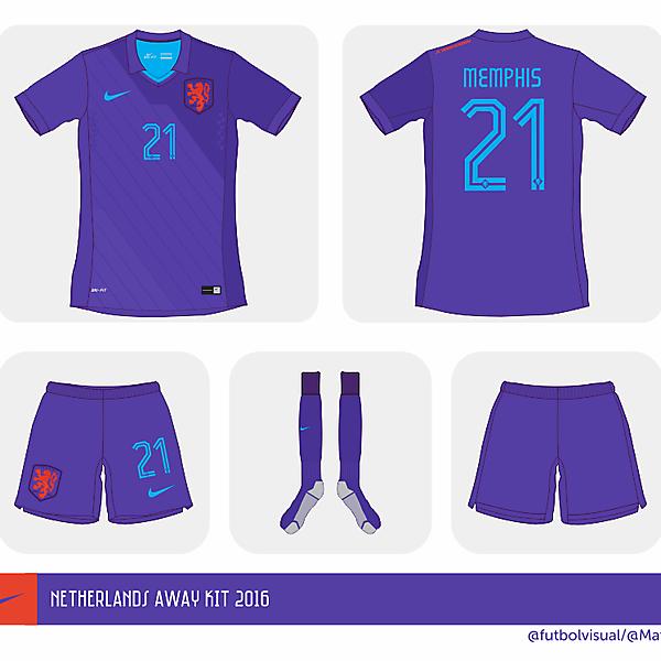 Netherlands Euro away shirt 2016 // Prediction //