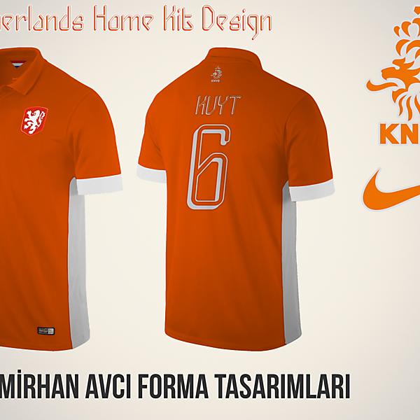 Netherlands Home Kit Design