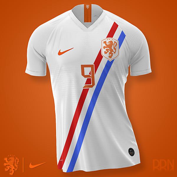 Netherlands Nike Away Euro 2020