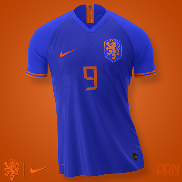 Netherlands Nike Away Euro 2020 (Royal blue)