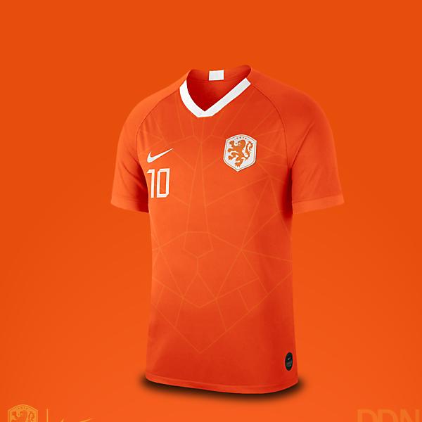 Netherlands Nike Euro 2021