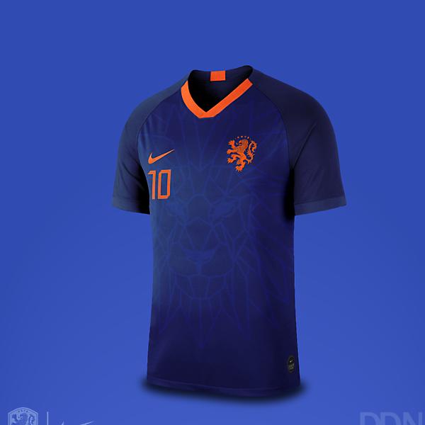 Netherlands Nike Away Euro 2021