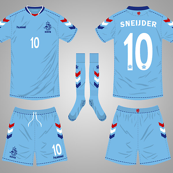 Netherlands Third Kit