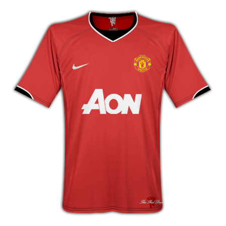 Manchester United Kit 2010/2011
