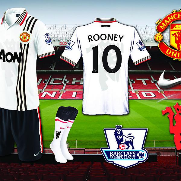 New Man Utd Away Kit