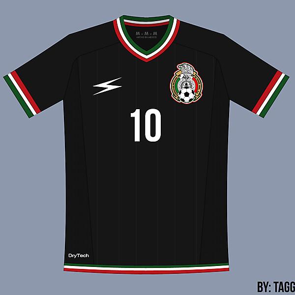 Mexico Black Away Kit