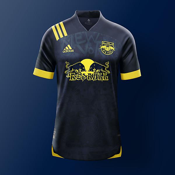 New Yor Red Bull - Away Kit