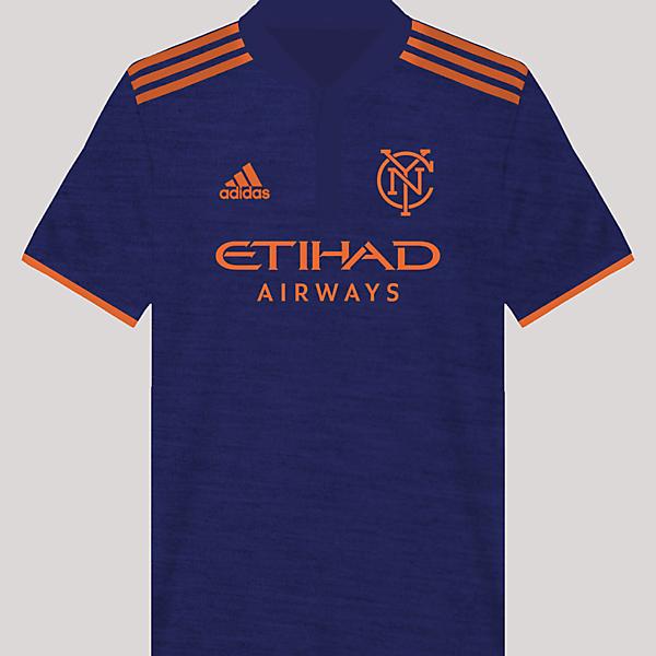 New York City FC Away Kit