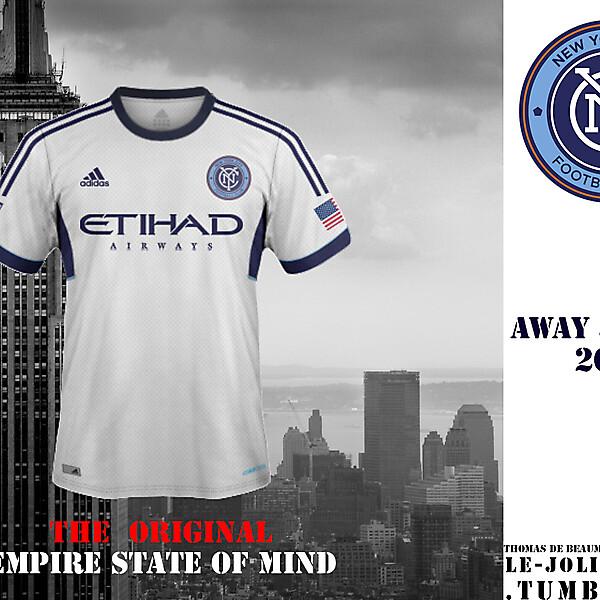 NEW YORK CITY FOOTBALL CLUB Away Fantasy Kit Jersey