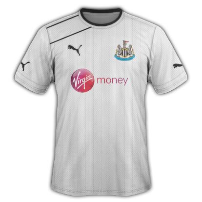 Newcastle United fantasy kits with Puma