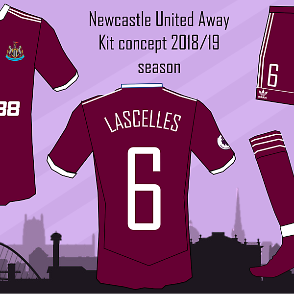 Newcastle United Away Kit 2018/19