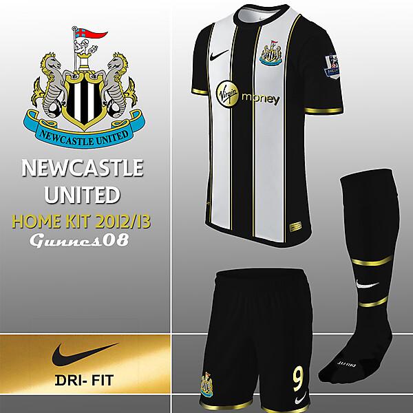 New Castle United Home Kit 2012-13